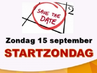 Startzondag 15 september
